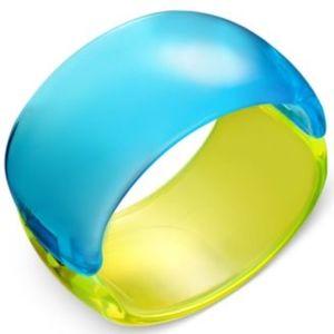 I.N.C. Blue/Yellow Hinge Bracelet NEW!